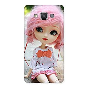 Enticing Pink Doll Back Case Cover for Galaxy Grand 3