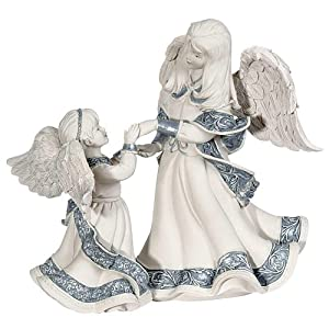 Sarah's Angels Mother and Child Angel Figurine, 6-Inch