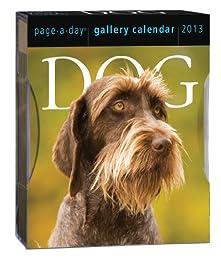 Dog 2013 Gallery Calendar (Page a Day Gallery Calendar)