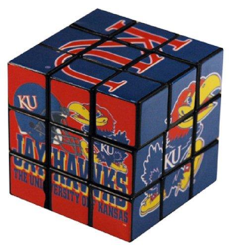 NCAA Kansas Jayhawks Toy Puzzle Cube - 1