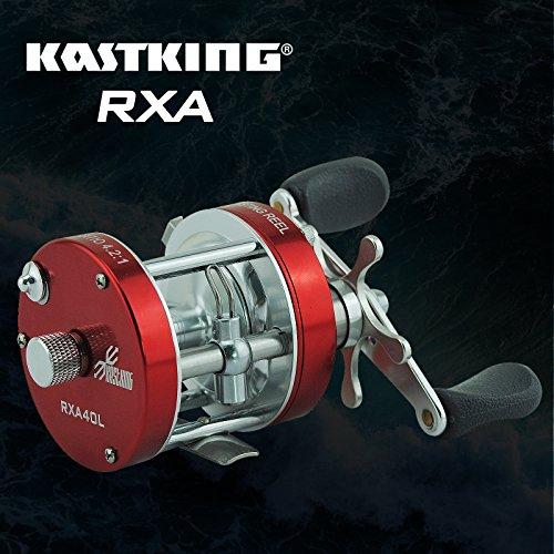 Fishlander reels kastking rxa 40 90 round baitcasting for Bottom fishing reels