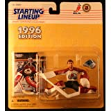 PATRICK ROY / COLORADO AVALANCHE 1996 NHL Starting Lineup Action Figure & Exclusive NHL Collector Trading Card ~ Starting Line Up