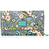 Oilily  French Flowers L Wallet Grey, Portemonnaies femme