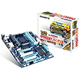 Gigabyte GA-990XA-UD3 - Placa base (Socket AM3+, 4 x DDR3, 6 x SATA, 3 x USB con la tecnología On/Off Charge)