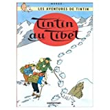 Les Aventures de Tintin / Tintin au Tibet (French edition of Tintin in Tibet) / Book and DVD Package
