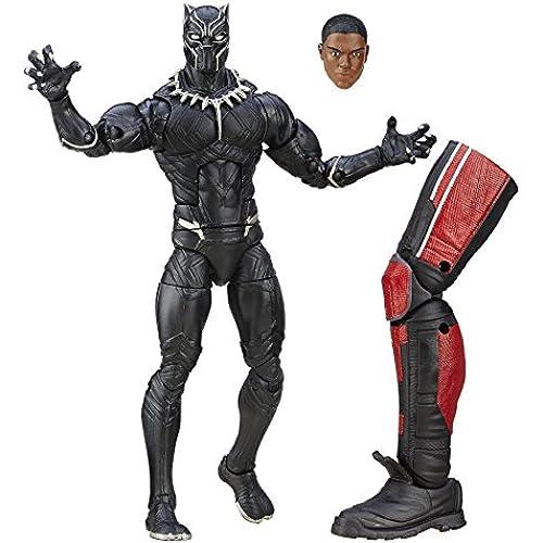 하스브로 캡틴 미국 / civil 우   마베루레진도  6인치 피규어 자이언트 맨 시리즈 블랙 팬서 / Hasbro CAPTAIN AMERICA:CIVIL WAR 2016 MARVEL LEGENDS GIANT-MAN SERIES BLACK PANTHER [병행수입판] 레지스터 즈
