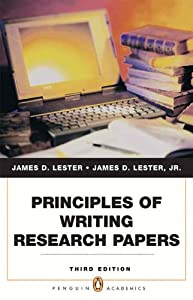 james d lester writing research papers