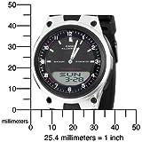 Casio Men's AW80-1AV Forester Ana-Digi Databank 10-Year Battery Watch