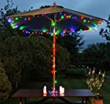 Coresmart Waterproof Multi-color 32m 300led string lights colorful String Lights by Solar Powered for Party, Festival, Christmas, Wedding