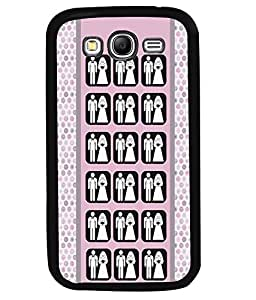 PrintVisa Metal Printed Married Couple Designer Back Case Cover for Samsung Galaxy Grand Neo Plus I9060I-D5044