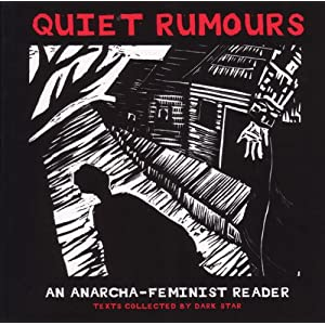 Quiet Rumors: An Anarcha-Feminist Reader Zine Cover