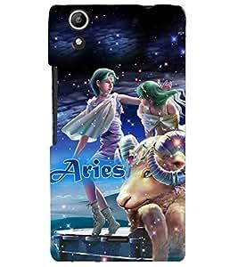 PRINTVISA Zodiac Aries Case Cover for Micromax Canvas Selfie 2 Q340