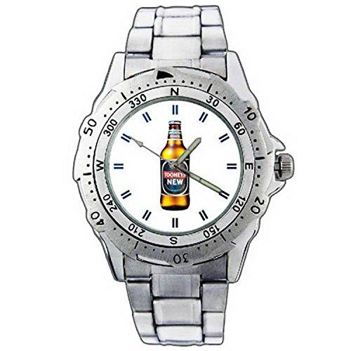 xze01-1294-tooheys-new-draught-beer-bottle-stainless-steel-wrist-watch