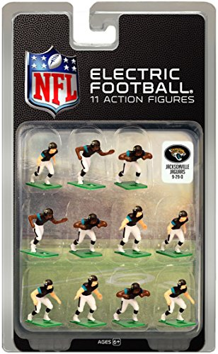 Jacksonville JaguarsDark Uniform NFL Action Figure Set