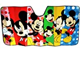 Jumbo Size Folding Sun Shade for Cars - Mickey Mouse