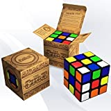 The Cube: Turns Quicker and More Precisely Than Original Rubiks; Super-durable With Vivid Colors; Best-selling 3x3 Rubix Cube; 100% Money Back Guarantee!