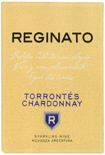 Nv Reginato Torrontes Chardonnay Sparkling Blend - White 750 Ml