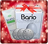 Bario Electric Callus Remover Set (Bario + 3 Polishing Plates + 1 Free Foot Cream)