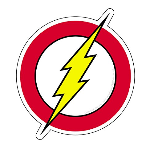 C&D Visionary DC Comic Originals Flash Logo Sticker