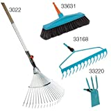 Gardena Set 4: 3022 130cm Handle with Rake, 33168 14
