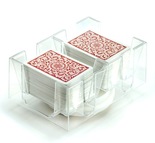 6 Deck Rotating-Revolving Card Tray by Brybelly (Deck Turntable compare prices)