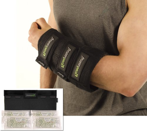 Frozenpeaz Reusable Heat/Ice Wrap - Small Joint (Ankle, Wrist, Elbow)