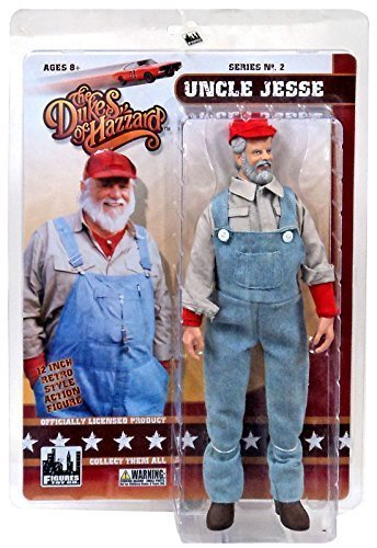 The Dukes of Hazzard Series 2 Uncle Jesse 12 Action Figure [12] by Dukes of Hazzard