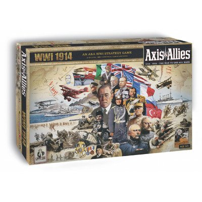 Axis And Allies 1914 World War I Board Game front-621636