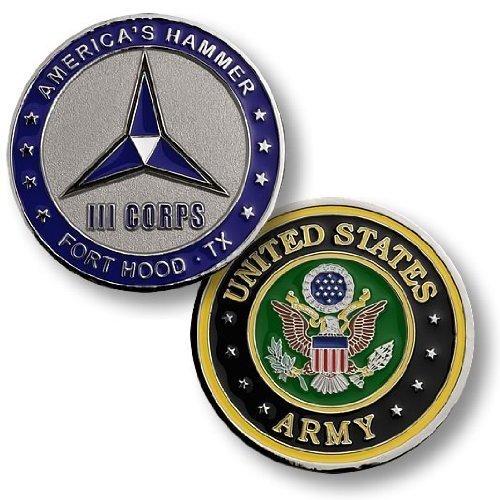Ft. Hood III Corps Challenge Coin