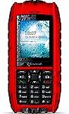 Crosscall Shark V2 Téléphone portable Débloqué/Etanche IP68 /flottant/résistant/2G (Ecran: 2,2 pouces/8 Go/Double SIM/Android) Rouge