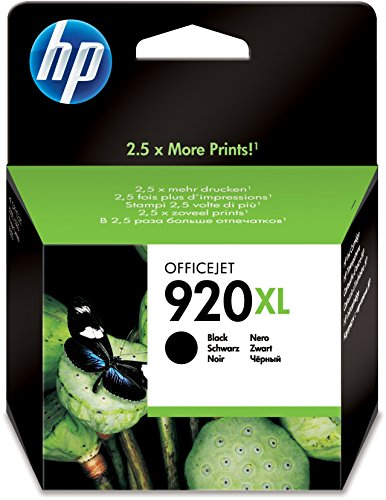 Cartuccia originale inchiostro nero ad alta capacità HP 920XL