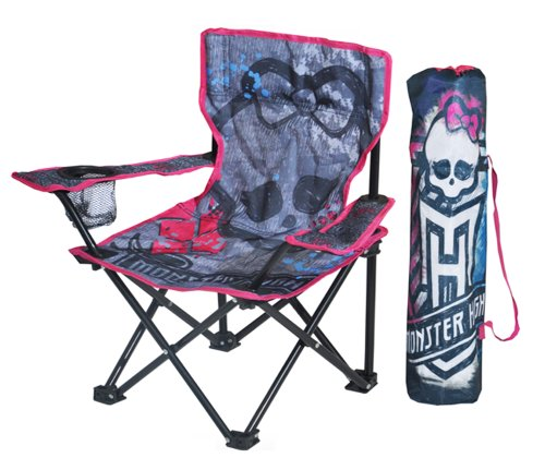 Monster High Folding Camp Chair Playground Outdoor