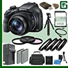 Sony DSC-HX400V Digital Camera + 64GB Green's Camera Bundle 12