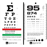 McCoy - Ultimate Rosenbaum/Snellen Pocket Eye Chart - -