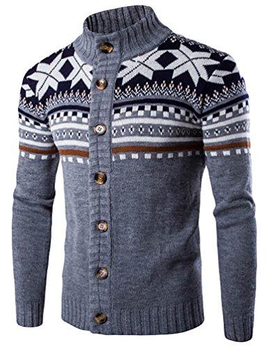 cerui-hombre-casual-moda-cardigan-de-punto-estilo-etnico-jersey-de-cuello-alto-gris-m