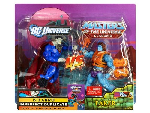 Picture of Mattel DC universe VS Masters of the Universe Classics Bizzaro Faker Figure (B005F1FQ9O) (Mattel Action Figures)