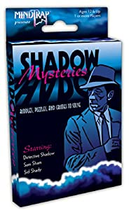 Outset Media MindTrap Shadow Mysteries Card Game