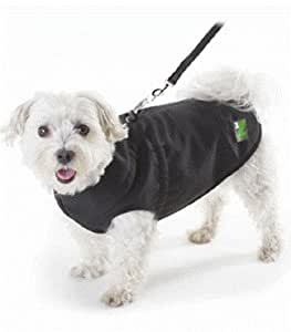 Pawz 1Z Black Dog Coat 12 x 20