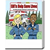 EMTs Help Save Lives Coloring and Activity Book Trade Show Giveaway
