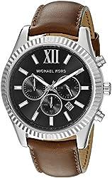 Michael Kors Men's MK8456 Lexington Brown Watch
