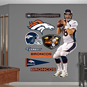 NFL Denver Broncos Peyton Manning Wall Graphics by Fathead