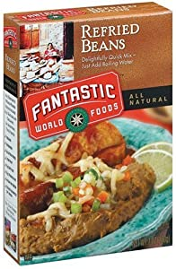 Fantastic Foods Instant Refried Beans 12x7 Oz from Fantastic Foods