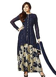 Starword Fashion Women`S best beautiful Blue Georgette Salwar Kameez Dress MaterialsStarword Fashion Women`S best beautiful Blue Georgette Salwar Kameez Dress Materials(BLUE_001_BLUE_FREESIZE)