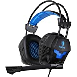 Sades SA921 Gaming Headset For PS4 Xbox360 Xbox One PC IPhone Smart Phone Laptop IPad Mobile Phones, Multi Function...