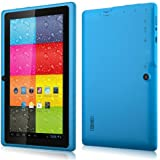 60% OFF 7 Inch Tablet PC, 16GB Multimedia, Multi-touch 1024 x 600 HD Display, A33 Quad Core, Google Android 4.4 KitKat, WLAN, Dual Camera, Wifi, Azure