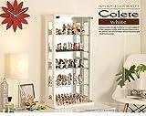 コレクションケース Colete〔コレテ〕 高さ80cm コレクションケース コレクションラック フィギュアケース ブラウン
