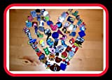 Lot of 20 Collectible Disney Trading Lapel Pins - Authentic NO Doubles Fast Shipping