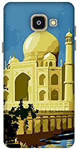 The Racoon Grip printed designer hard back mobile phone case cover for Samsung Galaxy A5 (2016). (the taj)