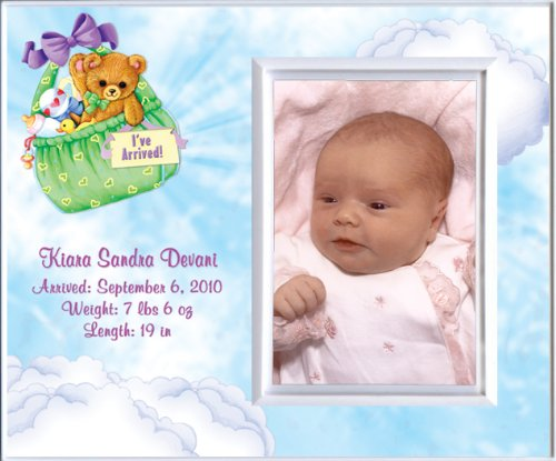 Baby Girl Photo Birth Announcements front-591074