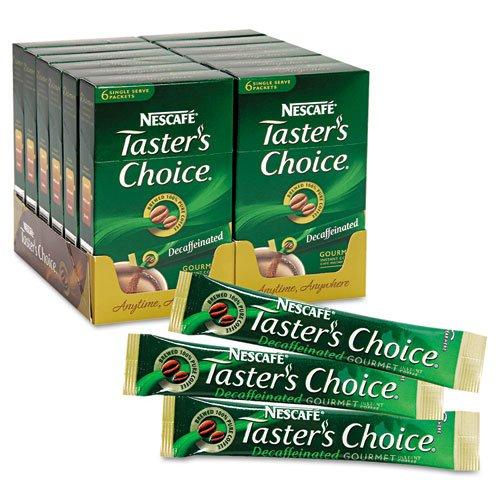 Nescafé - Taster'S Choice Stick Pack, Decaf Coffee, .07Oz, 72/Carton 70824 (Dmi Ct